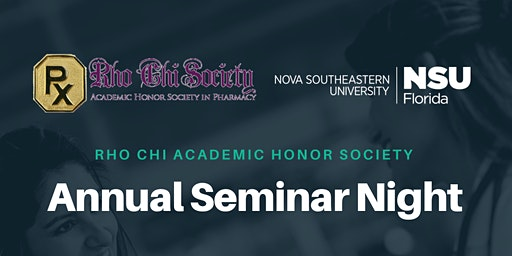 Rho Chi Annual Seminar Night