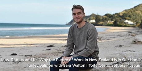 Jobs, Robots & Us: Kinley Salmon and Sara Walton discuss the future of work tickets