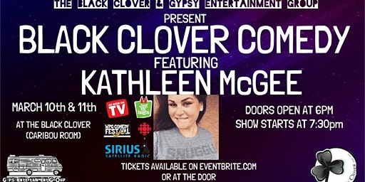 Black Clover Comedy presents Kathleen McGee