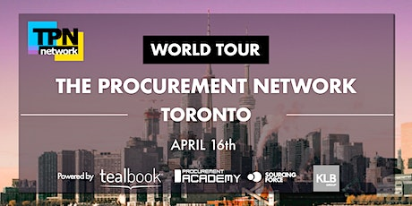 POSTPONED - New date to be announced soon - TPN Procurement Network tickets