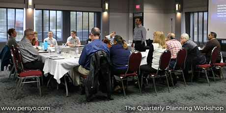 The Quarterly Planning Workshop - March 20th tickets