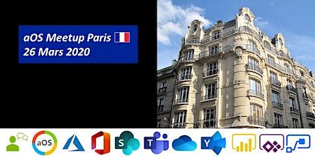 aOS Meetup Paris n°1 - 26 mars 2020 tickets