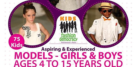 Aspiring Fashion Video/TV Host for KIDS New York City Fashion Show Interview Coverage entradas