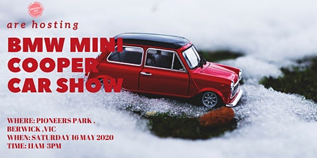 Attention Proud Mini Owners - Show Off your Mini Cooper this Autumn tickets