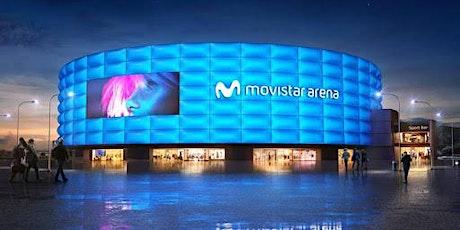 Movistar Arena /Tour Como Nunca Antes entradas