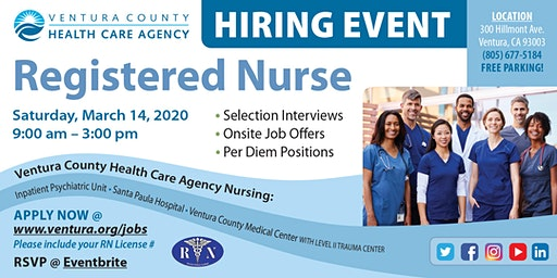 Registered Nurse Hiring Event