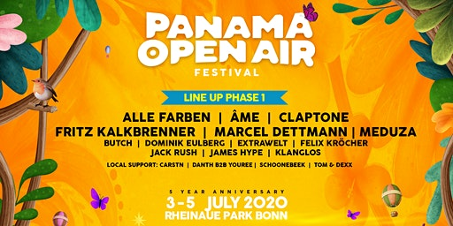 Panama Open Air Festival 2020 - 5th. Anniversary