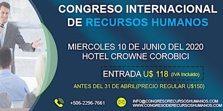 Congreso Internacional de Recursos Humanos (CIRH) Costa Rica 2020 tickets