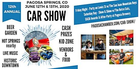 12th Annual Pagosa Springs Car Show tickets