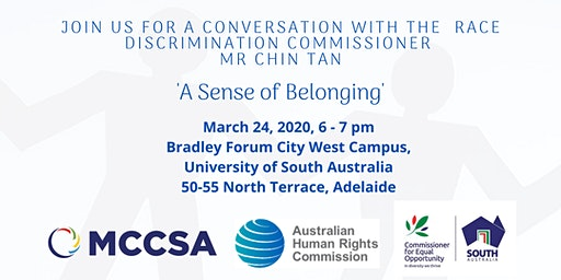 A Conversation with the Race Discrimination Commissioner - Mr Chin Tan