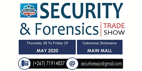 SECURITY & FORENSICS TRADE SHOW tickets
