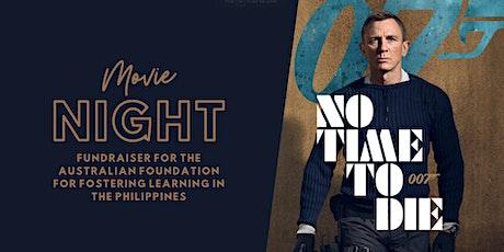'No Time to Die' Movie Fundraiser for AFFLIP tickets