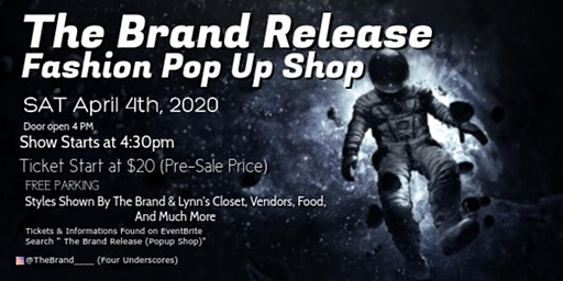 The Brand Release (Popup Shop)