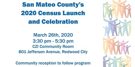 San Mateo County's 2020 Census Launch and Celebration tickets
