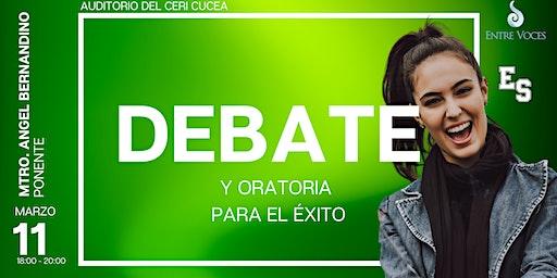 TERTULIA DEBATE Y ORATORIA PARA EL ÈXITO