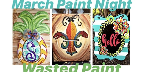 March Paint Night tickets