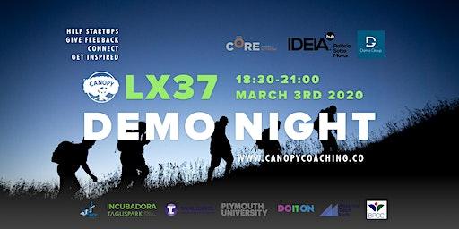 #DemoNightLx37 - Finding a co-founder