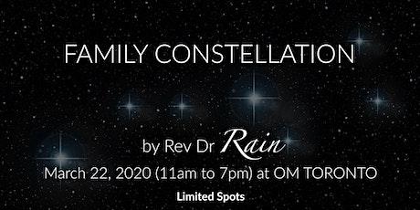 Rev. Rain's Family Constellation Toronto tickets
