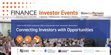 Finance News Network Investor Events - Melbourne tickets