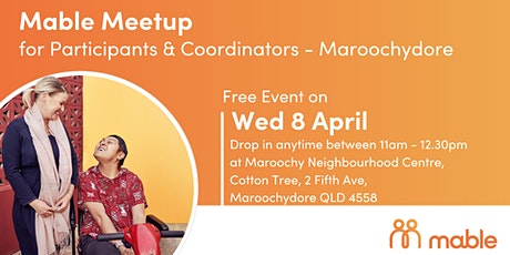 Mable Meetup for Participants & Coordinators - Maroochydore tickets