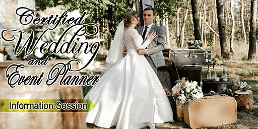 INFO SESSION: Certified Wedding & Event Planner