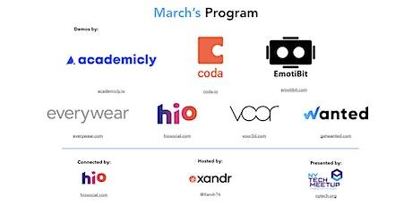 March 2020 NY Tech Meetup tickets