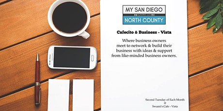 Cafecito & Business Vista -  Third Tuesday Sep tickets