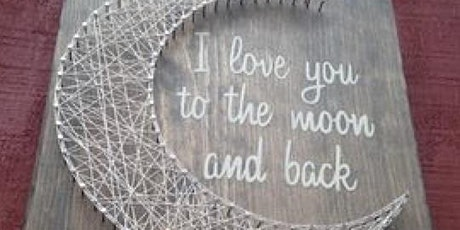 """Love You to the Moon..."" Sign tickets"