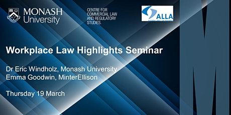 Workplace Law Highlights Seminar tickets
