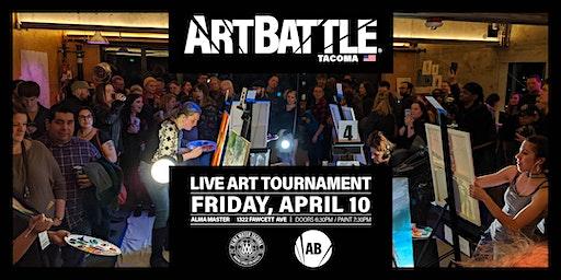 Art Battle Tacoma - April 10th, 2020