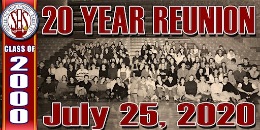 20 Year Reunion for the Spaulding High School Class of 2000