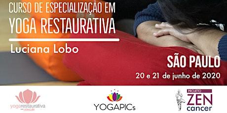 Curso de Especialização em Yoga Restaurativa ingressos