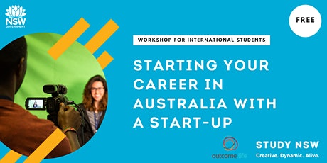 Starting your career in Australia with a Start-up tickets