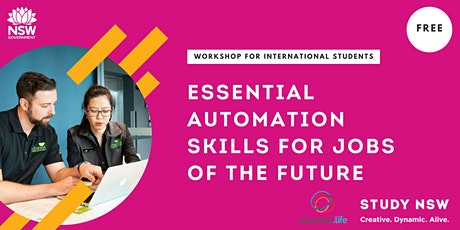 Essential automation skills for jobs of the future tickets