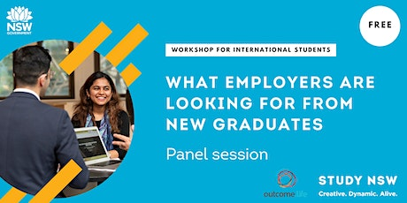 What employers are looking for from new graduates -Panel session tickets