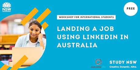 Landing a job using LinkedIn in Australia tickets