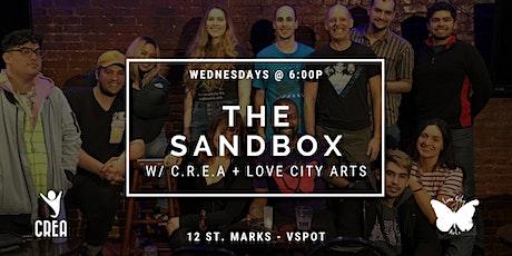 C.R.E.A. - Creative Sandbox and Incubator tickets