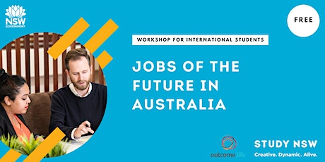 Jobs of the future in Australia tickets