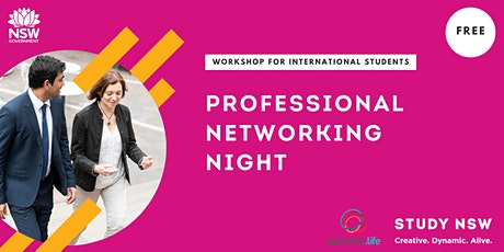 Professional networking night tickets