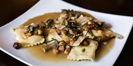 Homemade Mushroom Ravioli - Cooking Class by Golden Apron™ tickets