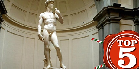 Skip The Line - Top5Ticket - Accademia Gallery Florence - 13:00H biglietti