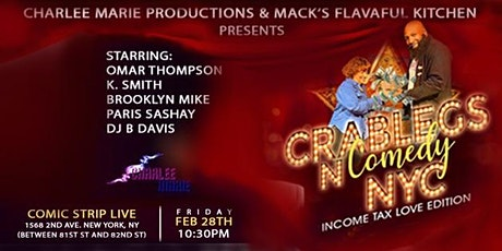 Crablegs N Comedy  tickets