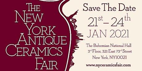 The New York Antique Ceramics Fair tickets