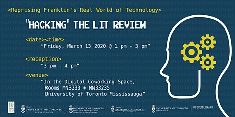 """Hacking"" the Lit Review tickets"