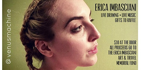 ERICA IMBASCIANI ART & TRAVEL MEMORIAL tickets