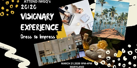 IWGQ's  Visionary Experience tickets