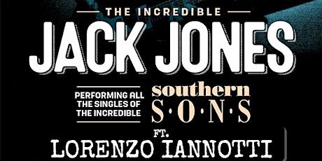 Lorenzo Iannotti supporting Jack Jones (Southern Sons) tickets