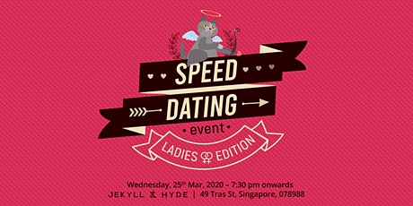 Speed dating - Ladies Edition tickets