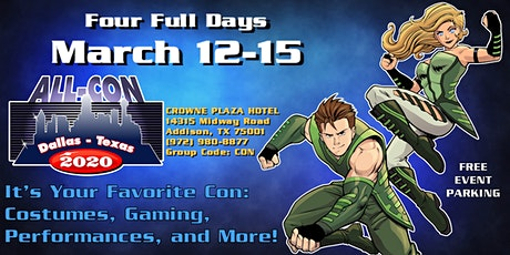 ALL-CON XVII: Vendors (booths, badges, power, promotions, services, etc.) tickets