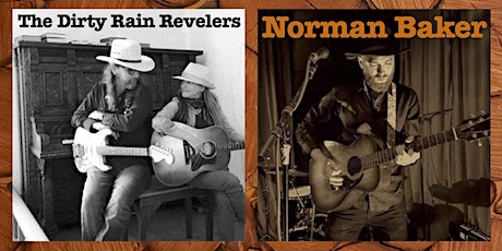 Norman Baker, The Dirty Rain Revelers, Paris Achenbach tickets